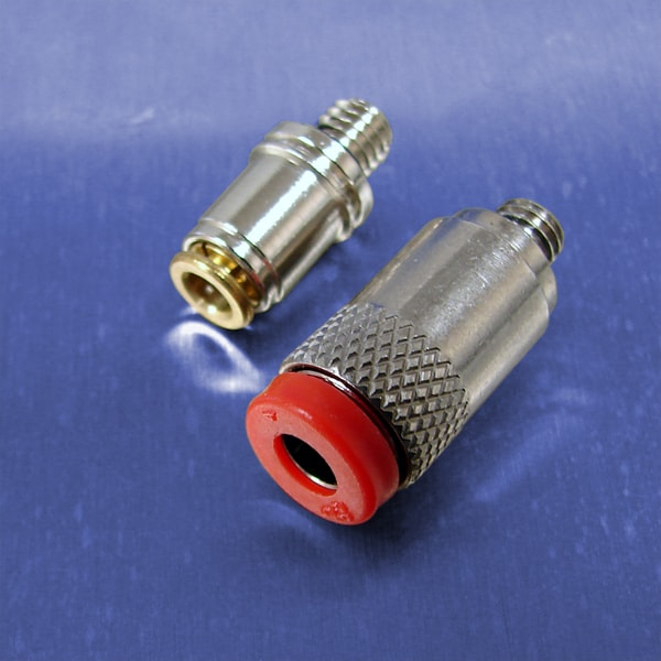 10-32 UNF Threads (Push-in Straight Connector Fittings)