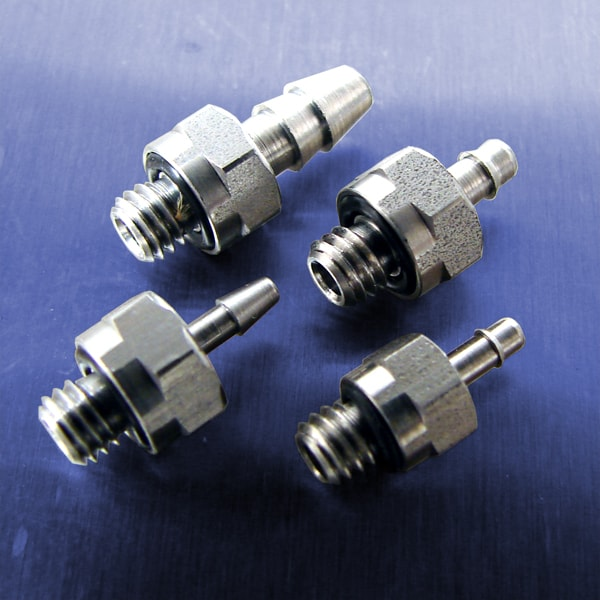 10-32 UNF Threads (Stainless Steel Straight Connectors)