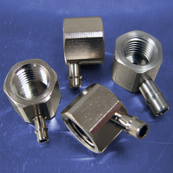 1/4 NPT (F) Thread to Barb Elbow Fittings