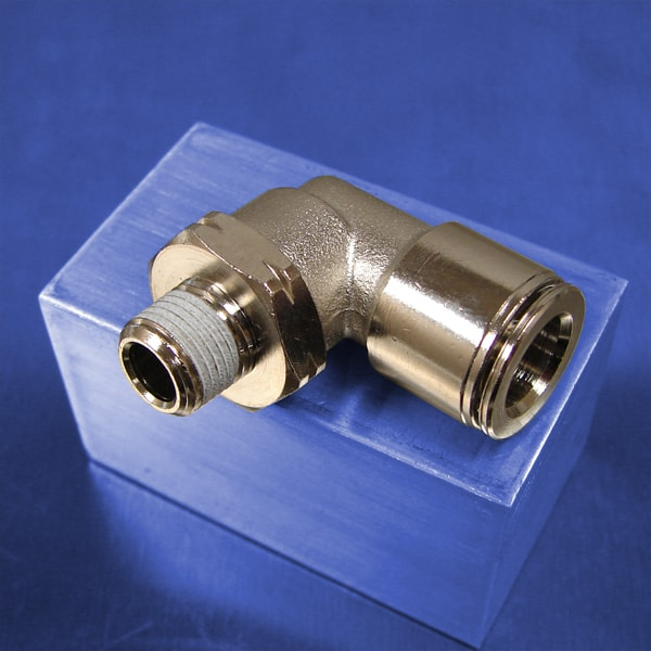 1/8 NPT Threads (Push-in Swivel Elbow Fittings)