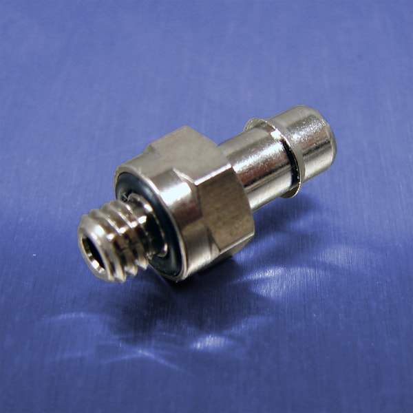 3/16 Tube Id Barb Straight Connectors (10-32 UNF)