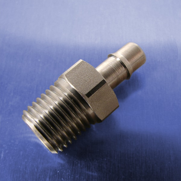 5/16 Tube Id Barb Straight Connectors (1/4 NPT)