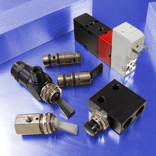 Pneumatic Valves | Pneumatic Directional Air Control Valves | Pneumadyne