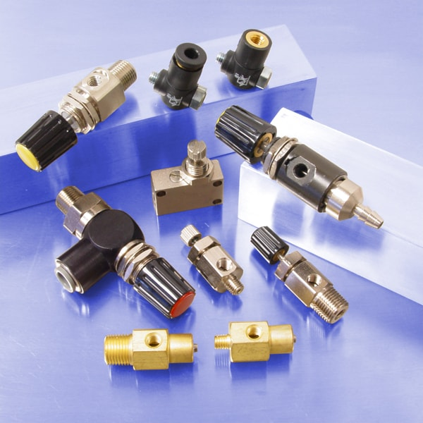 pneumatic needle valves