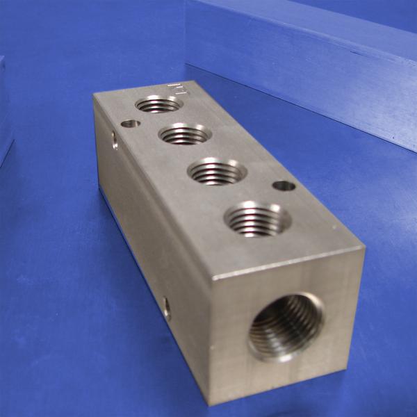 Station npt f input stainless steel manifold