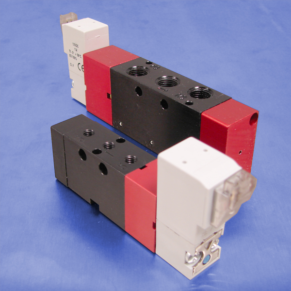 3-Way Normally Closed Solenoid Operated Valves