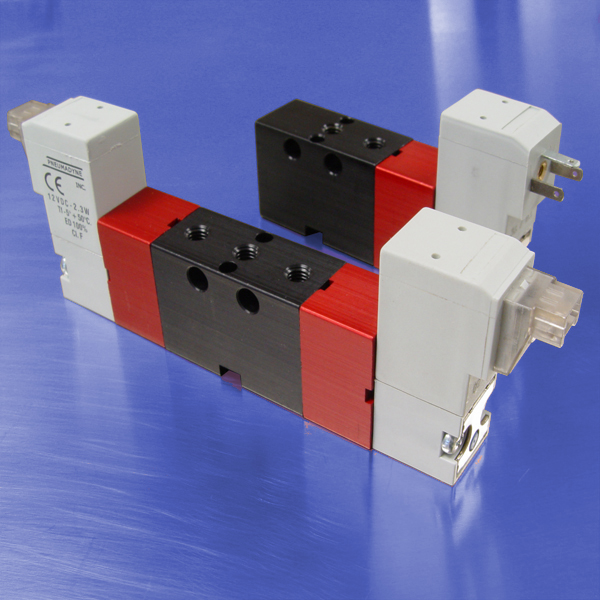 3-Way Normally Open Solenoid Operated Valves