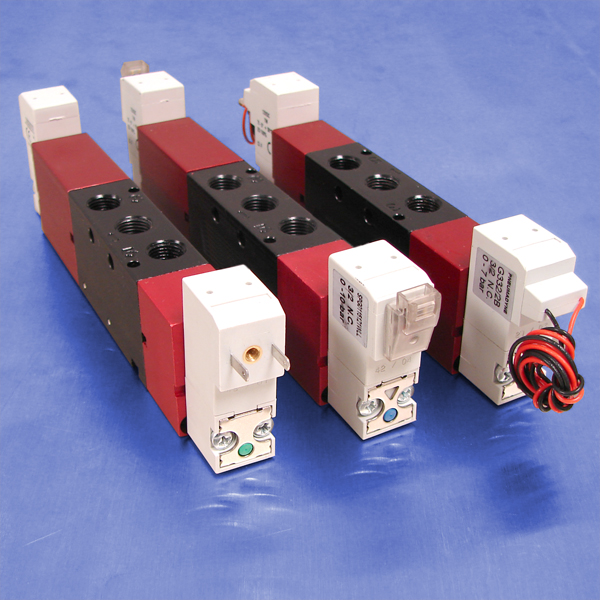 4-Way, 5 Port 3-Position Solenoid Operated Valves