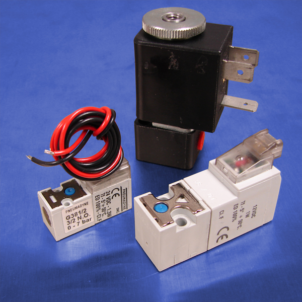 3-Way Normally Open Solenoid Valve