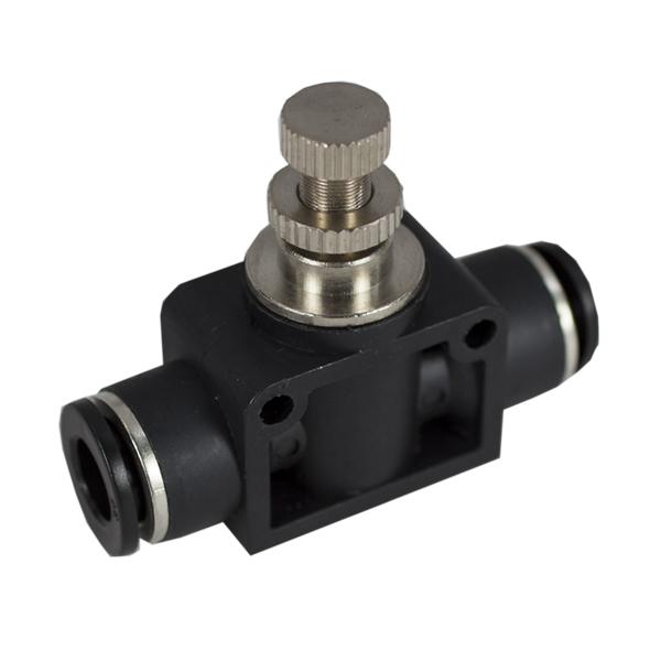 Inline Flow Regulator : Plastic inline flow controls pneumadyne