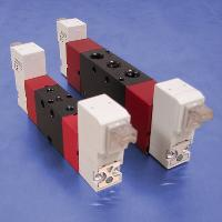 90° Connector (110V AC 4-Way, Double Solenoid Valves)
