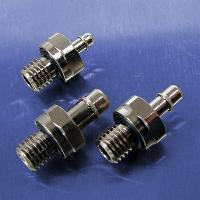1/4-28 UNF Threads (Stainless Steel Straight Connectors)