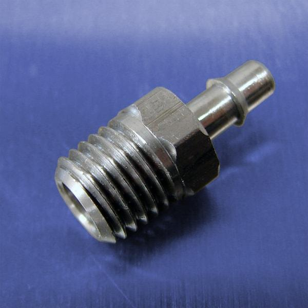 .170 Tube Id Barb Straight Connectors (1/16 NPT)