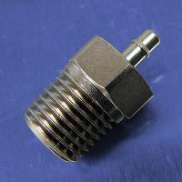 1/8 Tube Id Barb Straight Connectors (1/8 NPT)