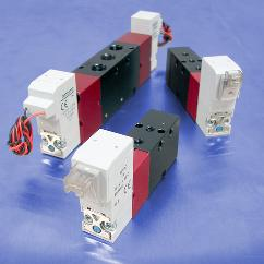 4-Way, 5 Port 2-Position Solenoid Operated Valves