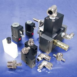 Pneumatic manifolds and control valves