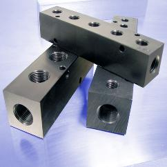 "Pneumatic Manifolds with 1.5"" Output Spacing"