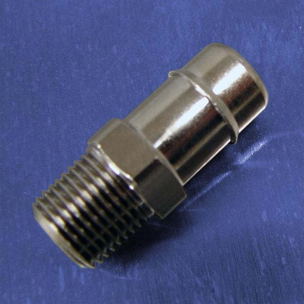 3/8 Tube Id Barb Straight Connectors (1/8 NPT)