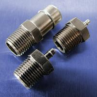 1/8 NPT Threads (Stainless Steel Straight Connectors)