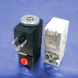 12-Volt DC Low Wattage 2-Way Normally Closed Solenoid Valves | Pneumadyne