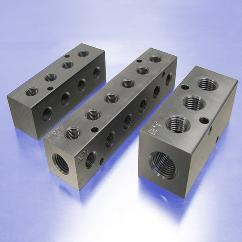 Pneumatic Manifolds:  90° Output Ports