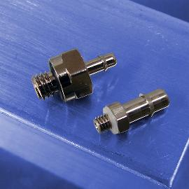 Stainless Steel Straight Connectors