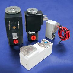 24V DC 3-Way Normally Closed Solenoid Valve | DC Solenoids | Pneumadyne