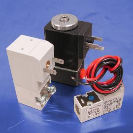 24-Volt DC Low Wattage 2-Way Normally Closed Solenoid Valves | Pneumadyne