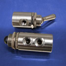 2-Way & 3-Way Stainless Steel Pneumatic Control Valves